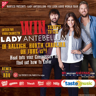 Enter for a Chance to WIN tickets to see Lady Antebellum June 15!
