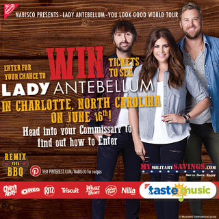 Enter for a Chance to WIN tickets to see Lady Antebellum June 16!