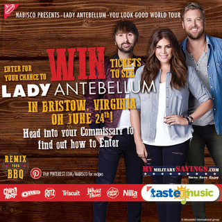 Enter for a Chance to WIN tickets to see Lady Antebellum June 24!
