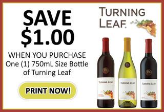 Turning Leaf Coupon