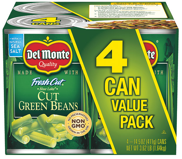 Coupons for del monte green beans