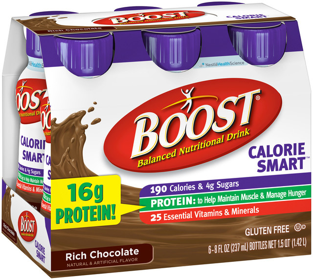 Boost High Protein Energy Drink 8 Oz: Boost® Calorie Smart™ Rich Chocolate Balanced Nutritional