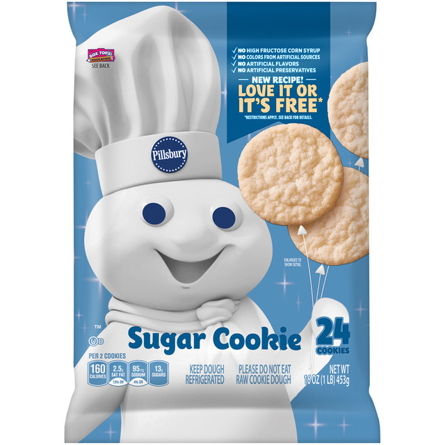 Cookie dough pillsbury