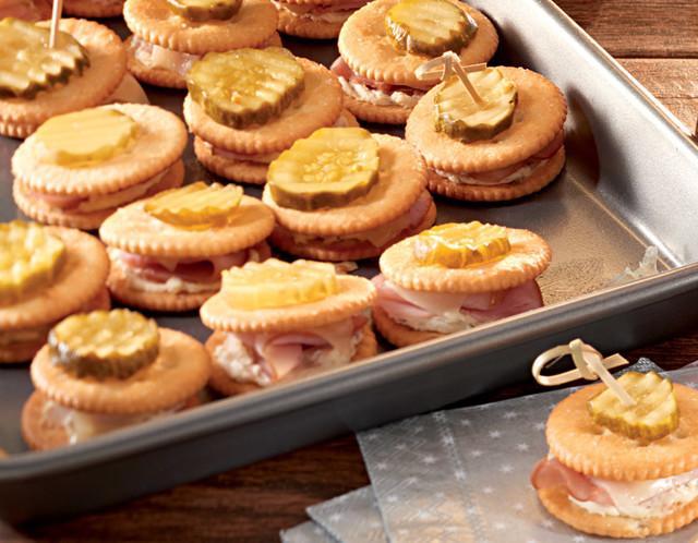 RITZ Ham & Cheese Bake