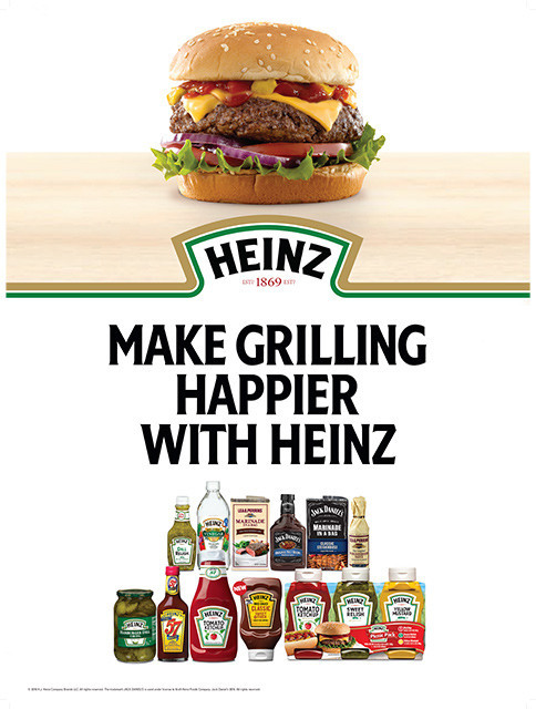 Make Grilling Happier With HEINZ