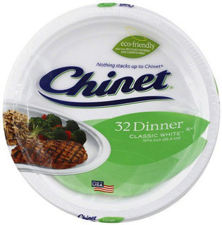 Chinet Classic White™ Dinner Plates
