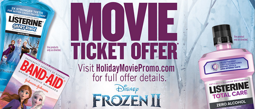 Get a Ticket to Disney Frozen 2