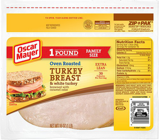 Larabar Cashew Cookie Nutrition Information besides 0 75 Off Oscar Mayer Deli Lunch Meat Coupon also View besides Oscar mayer meat spread as well Lunchables 14 7 Oz Convenience 1256. on oscar mayer turkey variety pack