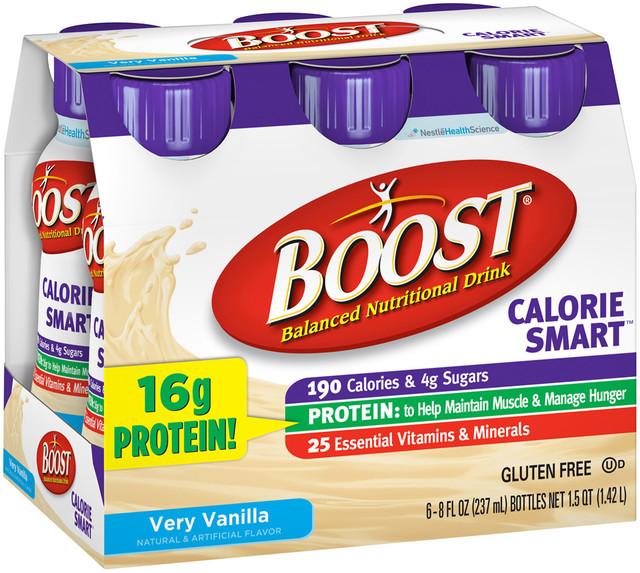 d08b9a040d454 Boost® Calorie Smart™ Very Vanilla Balanced Nutritional Drink ...