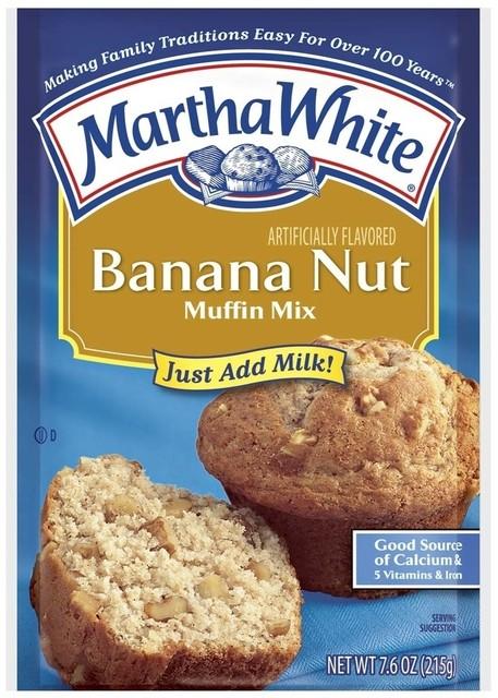 Martha White Banana Nut Muffin Mix Food My Commissary My
