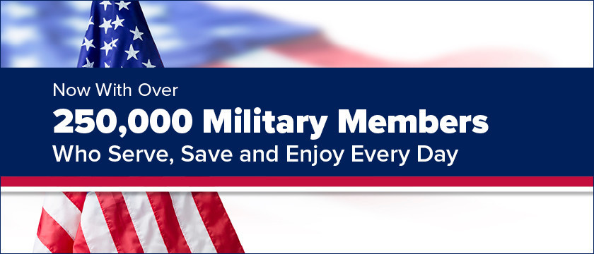 Become a part of our Military Community