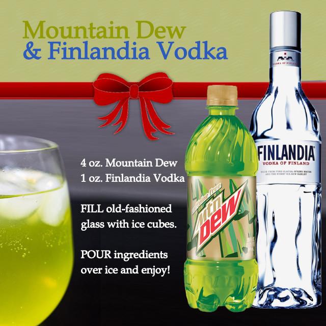 Mountain Dew Amp Finlandia Vodka Recipes My Military Savings