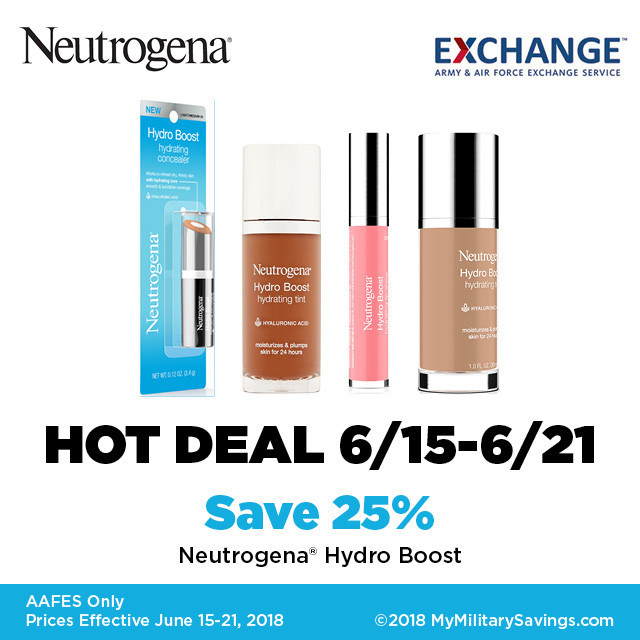 Neutrogena Hydero Boost Deal