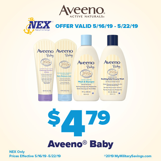AVEENO® Baby May NEX Savings